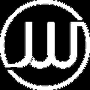 Jens Wolff logo white
